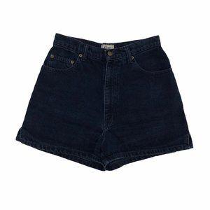 BASS Women's Hi Rise Dark Navy VTG Jean Shorts